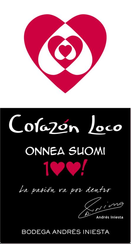 Corazon Loco Red