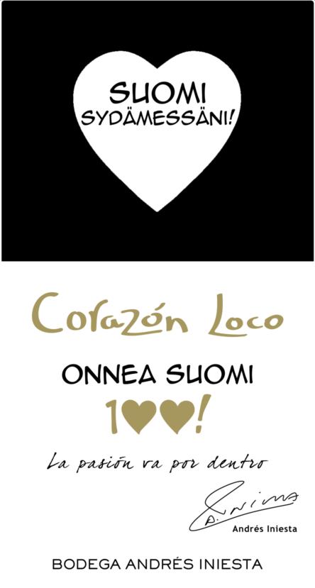 Corazon Loco White
