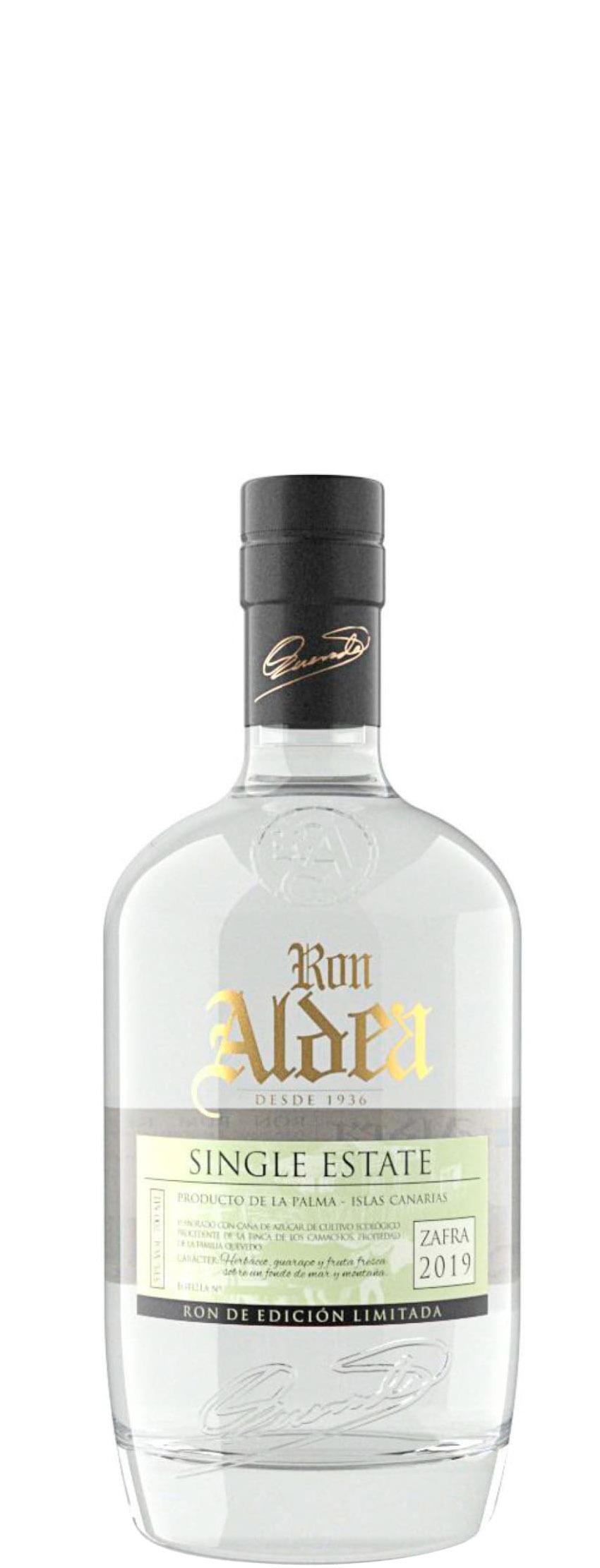 Ron Aldea Single Estate Eco Rhum 2019